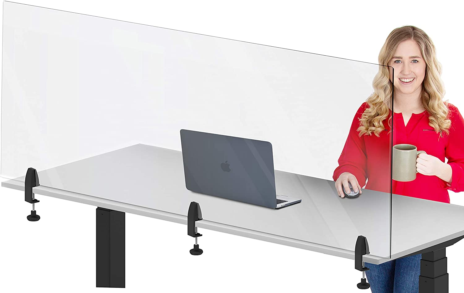 """Stand Steady Clear Desktop Panel 