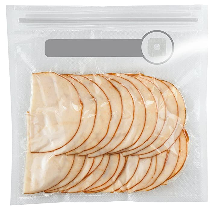 FoodSaver 1-Quart BPA-Free Multilayer Construction Vacuum Zipper Bags