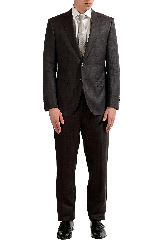 e5ac80386b29 Hugo Boss TRichards1 Crow2 Crow2 Crow2 Men's Linen Silk Two Button Suit US  40R IT 50 f8ec37