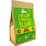 BodyMe Organic Vegan Protein Powder Blend | Raw Cinnamon | 1kg | UNSWEETENED | Low Carb | With 3 Plant Based Vegan Protein Powders | 22g Complete Protein | Gluten Free | All Essential Amino Acids