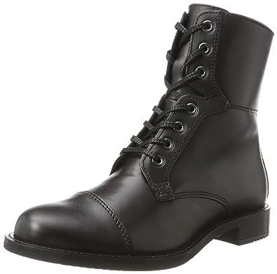 Ecco Damen Shape 25 Combat Boots, Schwarz (Black), 35 EU