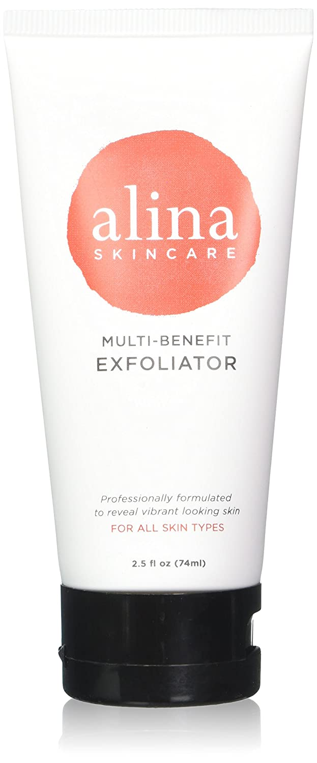 Alina Skin Care Multi-benefit Exfoliator for Deep Cleansing - Moisturizes, Nourishes, Soothes & Promotes Glowing, Radiant Skin, 2.5 Ounce Inc.