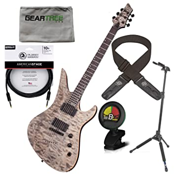 Schecter 807 Avenger 40th aniversario Snow Leopard Pearl guitarra ...