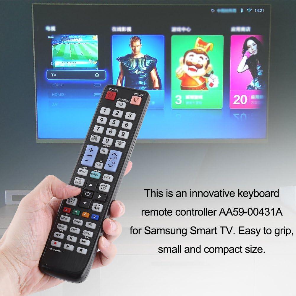 Smart TV Control Remoto para Samsung AA59-00431A, Reemplazo Control Remoto Universal AA59-00431A para Samsung Smart LED LCD TV: Amazon.es: Electrónica