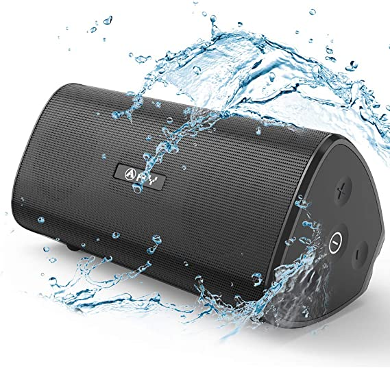 Travel Outdoor Green Bluetooth speaker 5.0,Hengweiuk Portable Wireless Bluetooth Speaker 40W with Dual Driver IPX7 Waterproof Bluetooth with 12 Hours Playtime 20 m Bluetooth Range for Party