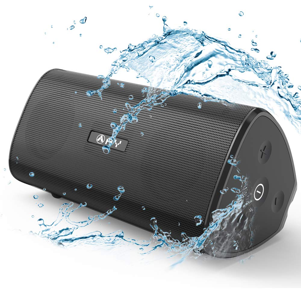 AY Portable Wireless Bluetooth 4.2 Speakers 30W with HD Stereo Sound, Extra Bass, Waterproof IPX7, TWS Technology, Built in Mic, 24H Playback, Perfect for Camping, Outdoors, Party. by AY