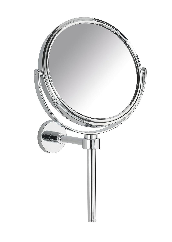 Wenko 17818100 Power-Loc Miroir Grossissant 300% Elegance