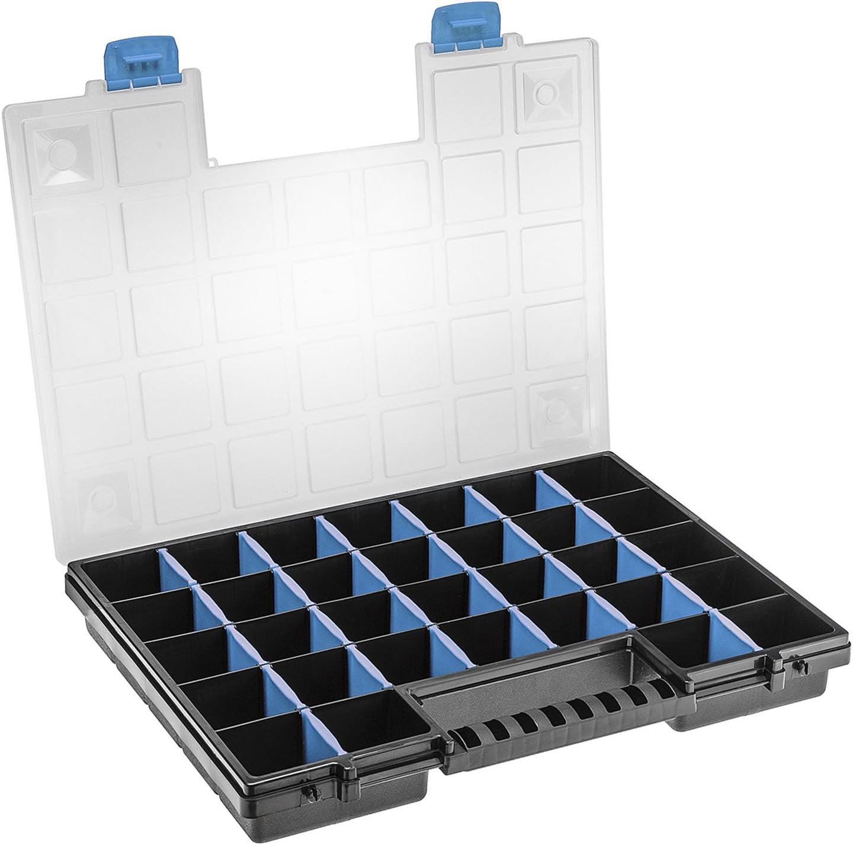 3 Stück Sortimentskasten Kleinteilemagazin Sortierbox Organizer Koffer Box TOPP