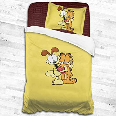 ShannonStone Gar_Field and Friend Dog Stylish Exquisite Pattern Quilt Cover with A Pillow Case for Children Rooms: Home & Kitchen