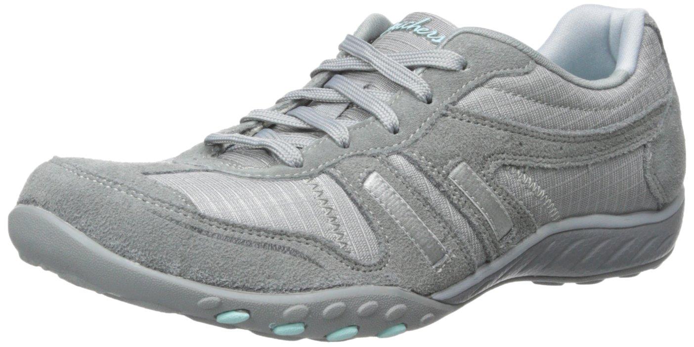 Skechers Breathe-Easy Jackpot Damen Sneakers  45 UK|Grau (Gry)