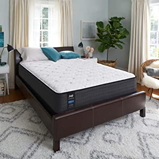 product image for Sealy 13-Inch Cushion Firm Eurotop Mattress, Split (Purchase 2 to Complete California King Set), white