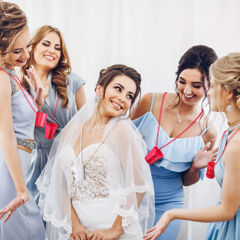 Mariée à être voile blanc Bachelorette Mariage Fête Enterrement Vie Jeune Fille Soirée Accsessory