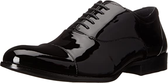 3. Stacy Adams Men's Gala Cap-Toe Tuxedo Lace-Up Dress Shoe
