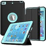 iPad Mini 4 Case, SEYMAC Three Layer Drop Protection Rugged Protective Heavy Duty iPad Mini Stand Case with Magnetic…