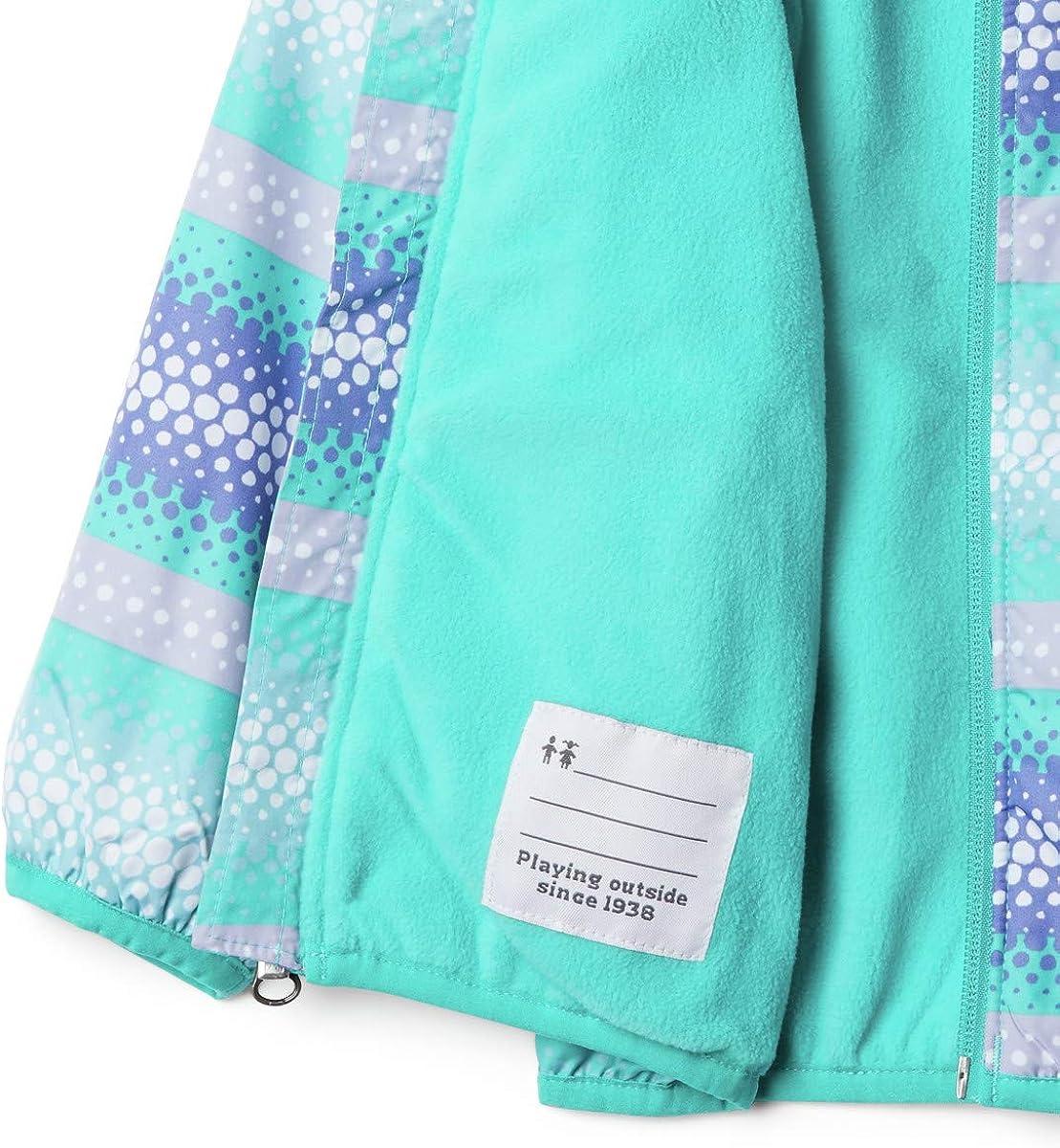 Columbia baby-girls Mini Pixel Grabber Ii Wind Jacket Windbreaker