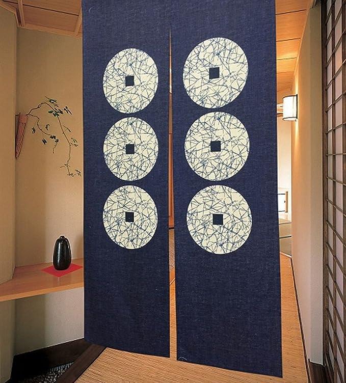Cortina de puerta japonesa Noren para decoración del hogar