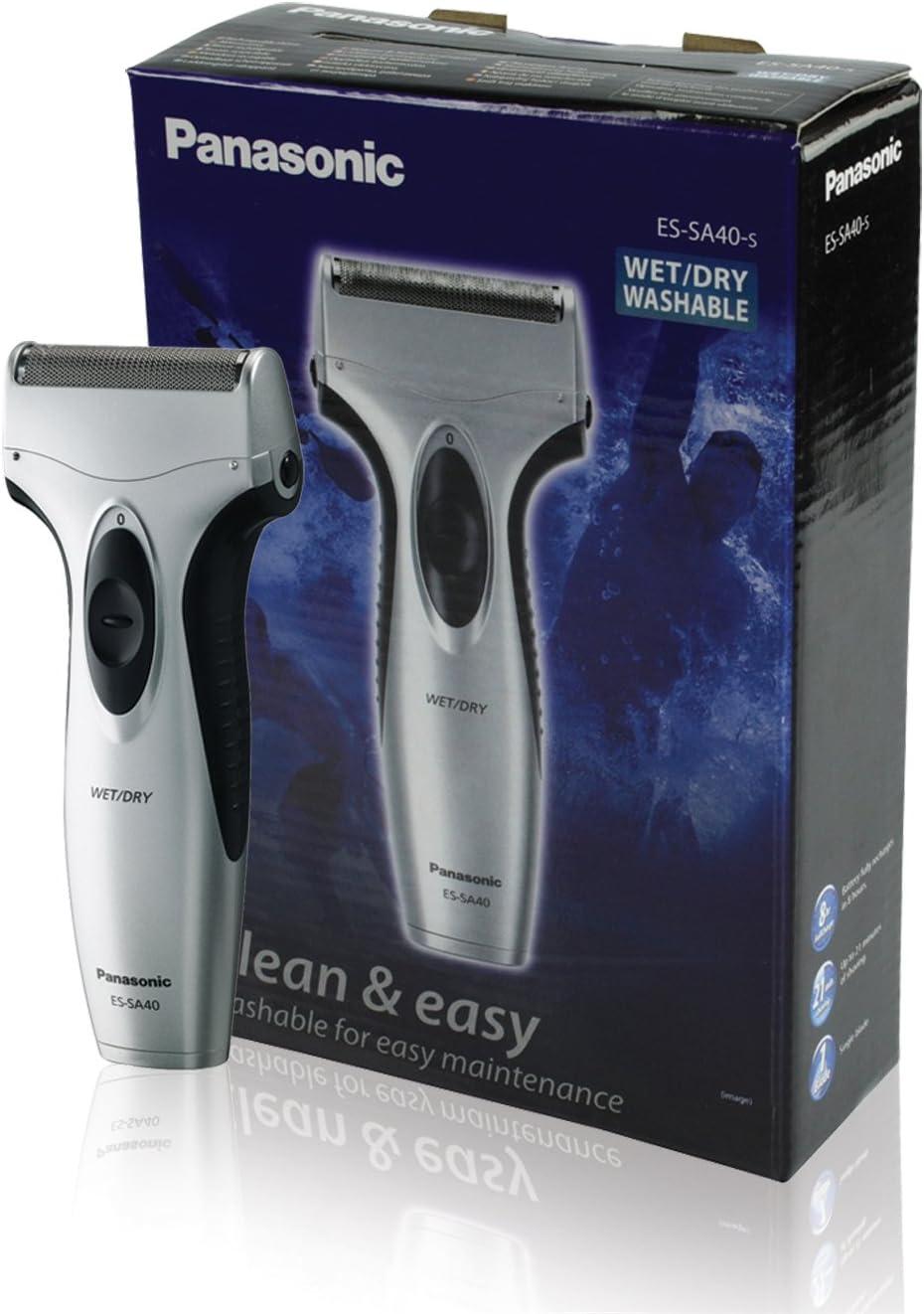 Panasonic ES-SA40 - Afeitadora Wet&Dry para cuidado masculino ...