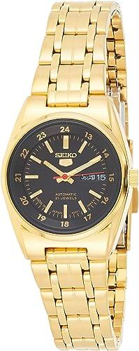 Amazon Com Seiko 5 Automatic Watch Symc06j1 Ladies Watches