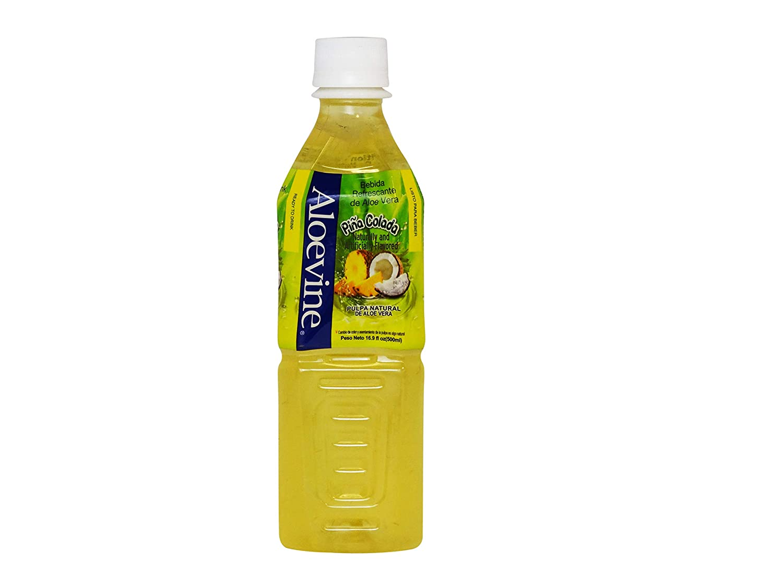 Aloevine Aloe Vera Drink Pina Colada, 16.9 oz 20 Pack