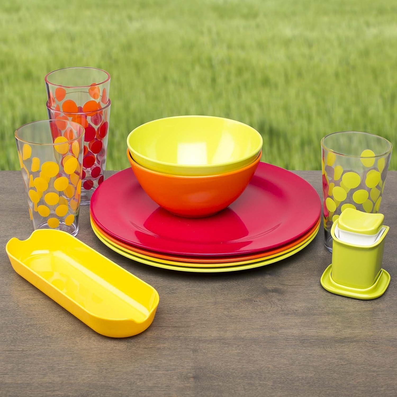 Amazon Zak Designs Ella Individual Bowls Orange Set Of 6 Kitchen Dining