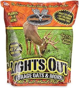 Antler King Deer Food Plot Lights Out Oats