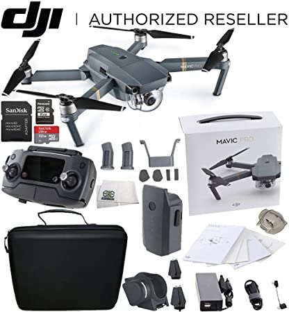 c1dc9936dae Amazon.com: DJI Mavic Pro Collapsible Quadcopter Starters Travel ...