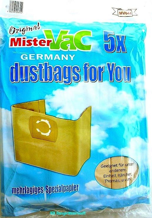 10x bolsas aspiradora Bolsa de aspiradora Bolsas de papel para ...