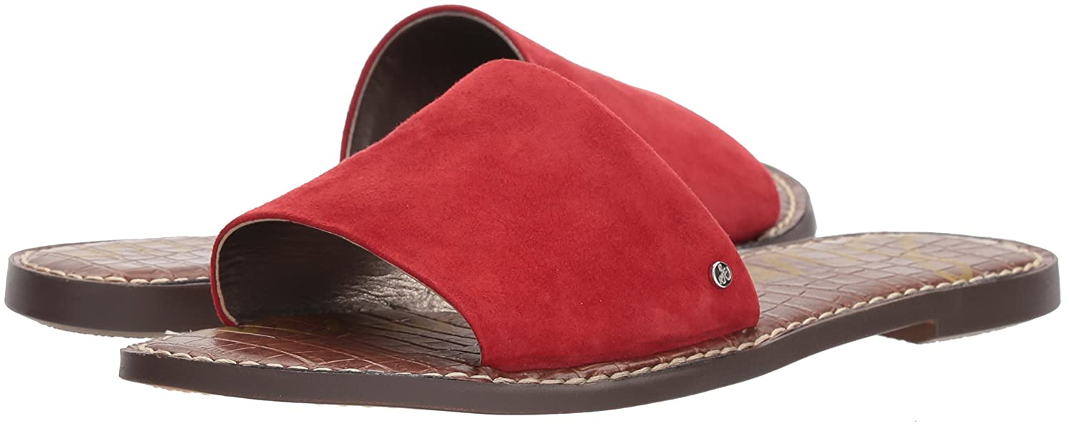 Sam Edelman Women's 8 Gio Slide Sandal B07679T8SY 8 Women's B(M) US|Red 73b37e