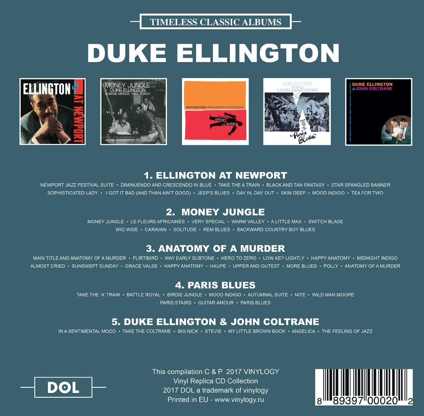 DUKE ELLINGTON - Timeless Classic Albums - Amazon.com Music