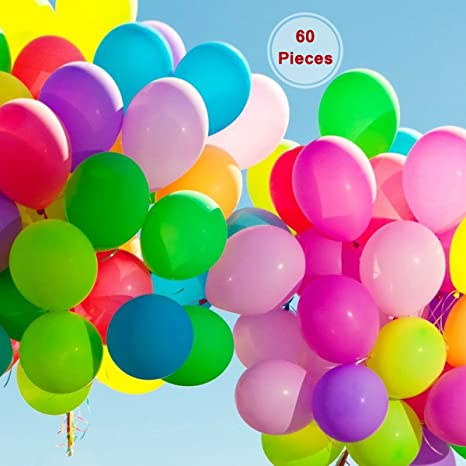 Globo metálico para fiesta de cumpleaños, 60 piezas ...