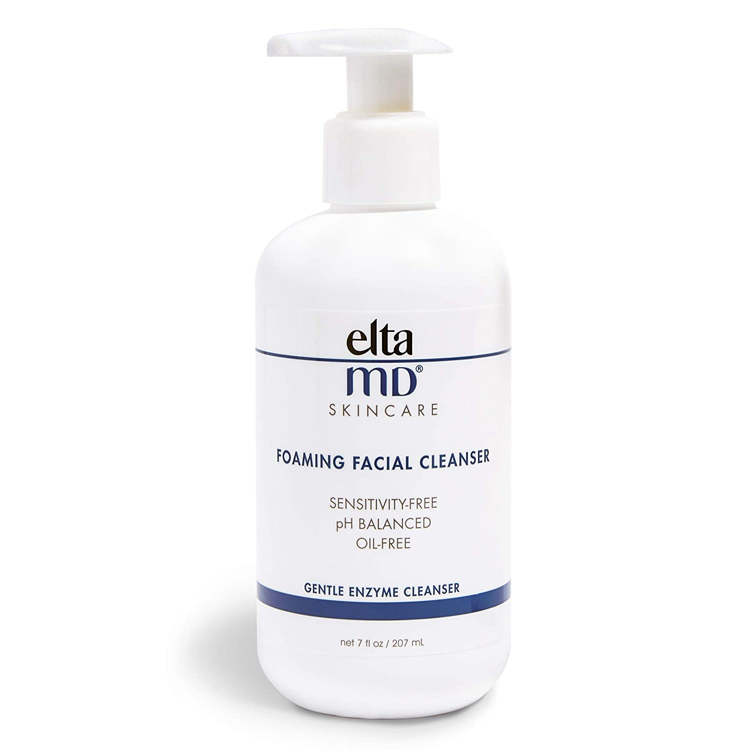 EltaMD Foaming Facial Cleanser, Gentle, Oil free, Sensitivity free,  Dermatologist Recommended Enzyme & Amino Acid Face Wash & Makeup Remover