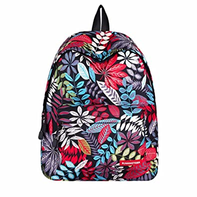 f90a7f34673f ALIKEEY Children Boys Girls Print Outdoor Backpack Bookbag School Bag  Traveling Small Lightweight Bags   Backpacks For Boys and Girls Women and  Men  ...
