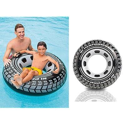 1 maxi bouée pneu à 2 poignées de,14 m de diamètre