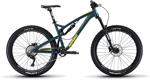 Diamondback Bicycles Release 1 Full Suspension Mountain Bike, Blue, 15.5 Small