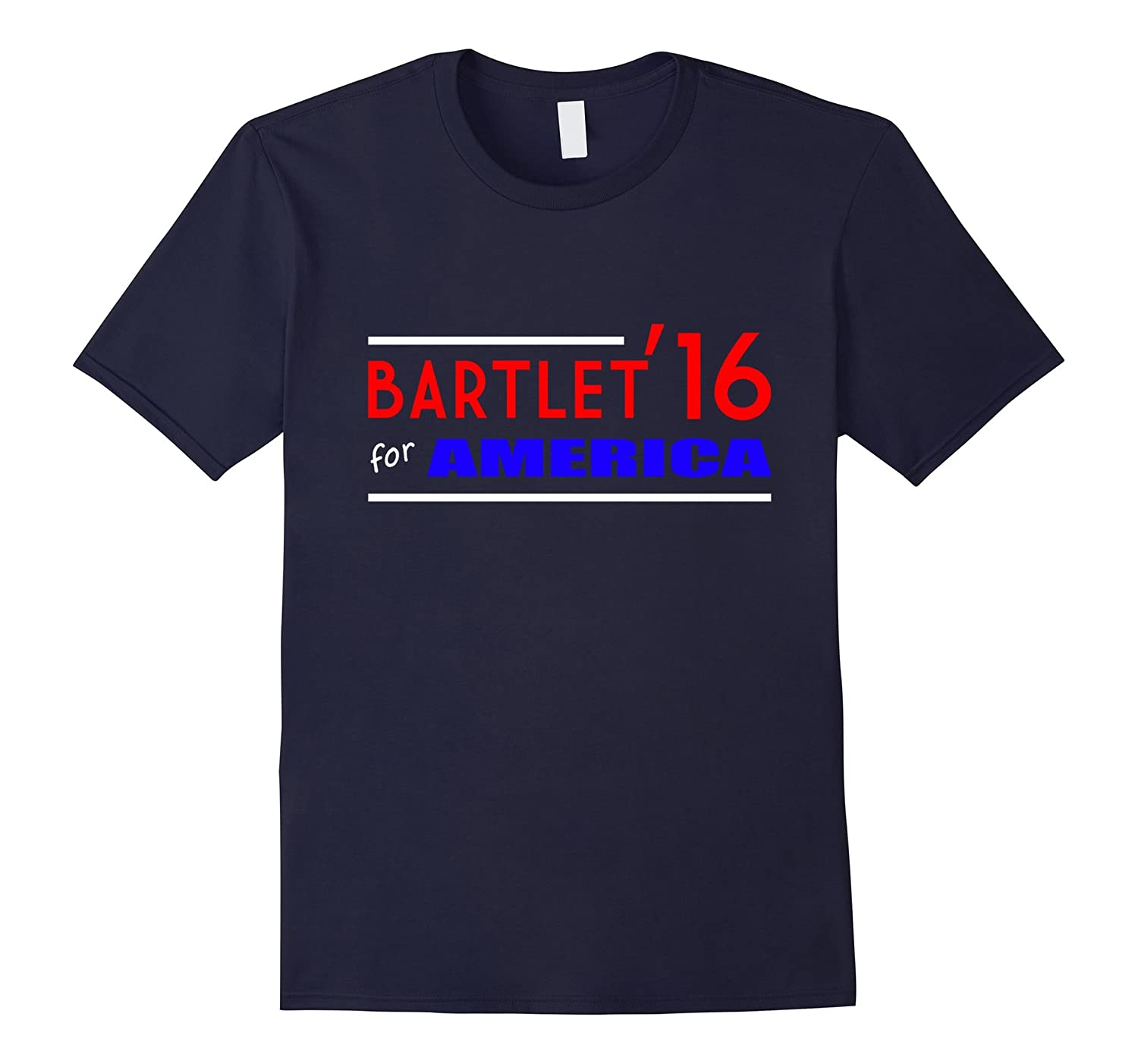 Bartlet for America 2016 US elections campaign gift t-shirt-BN