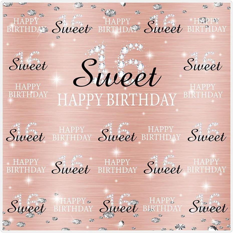 Allenjoy 1 8 X 1 8 M Sweet 16th Birthday Party Kamera