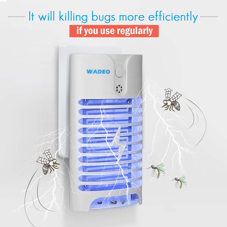 HK Lampe Anti Moustique /Électrique UV Tueur de Moustique Tueur Dinsectes Mouches Pi/ège 2PCS Destructeur de Moustique Interieur /Électronique Insecte Lampe