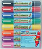 Artline 325T Wallet of 8 Assorted Water Colour Marker