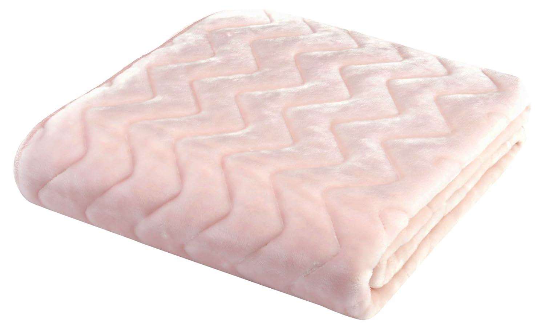京都西川 敷きパッド アクリル 洗える 羊毛風 日本製 ピンク セミダブル 120×205 2KG6100 B076CLMRN9 セミダブル|ピンク ピンク セミダブル