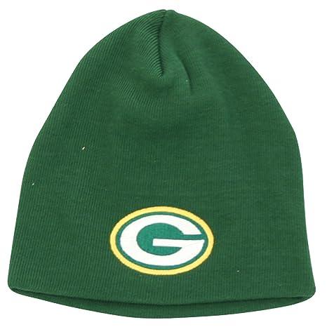 9cc25b139 Green Bay Packers Big Logo Classic Winter Knit Beanie Hat - Green