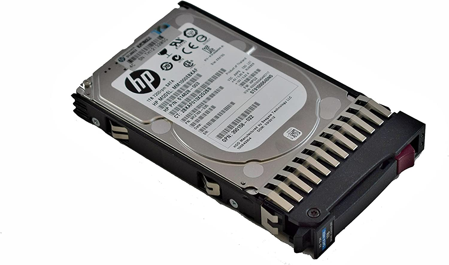 HP Compatible 625609-B21 1TB 7.2K SATA 2.5