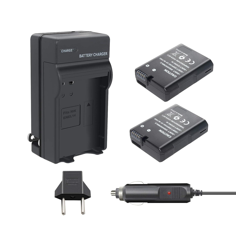 Bonacell EN-EL14 - Batería de Repuesto y Cargador para ...