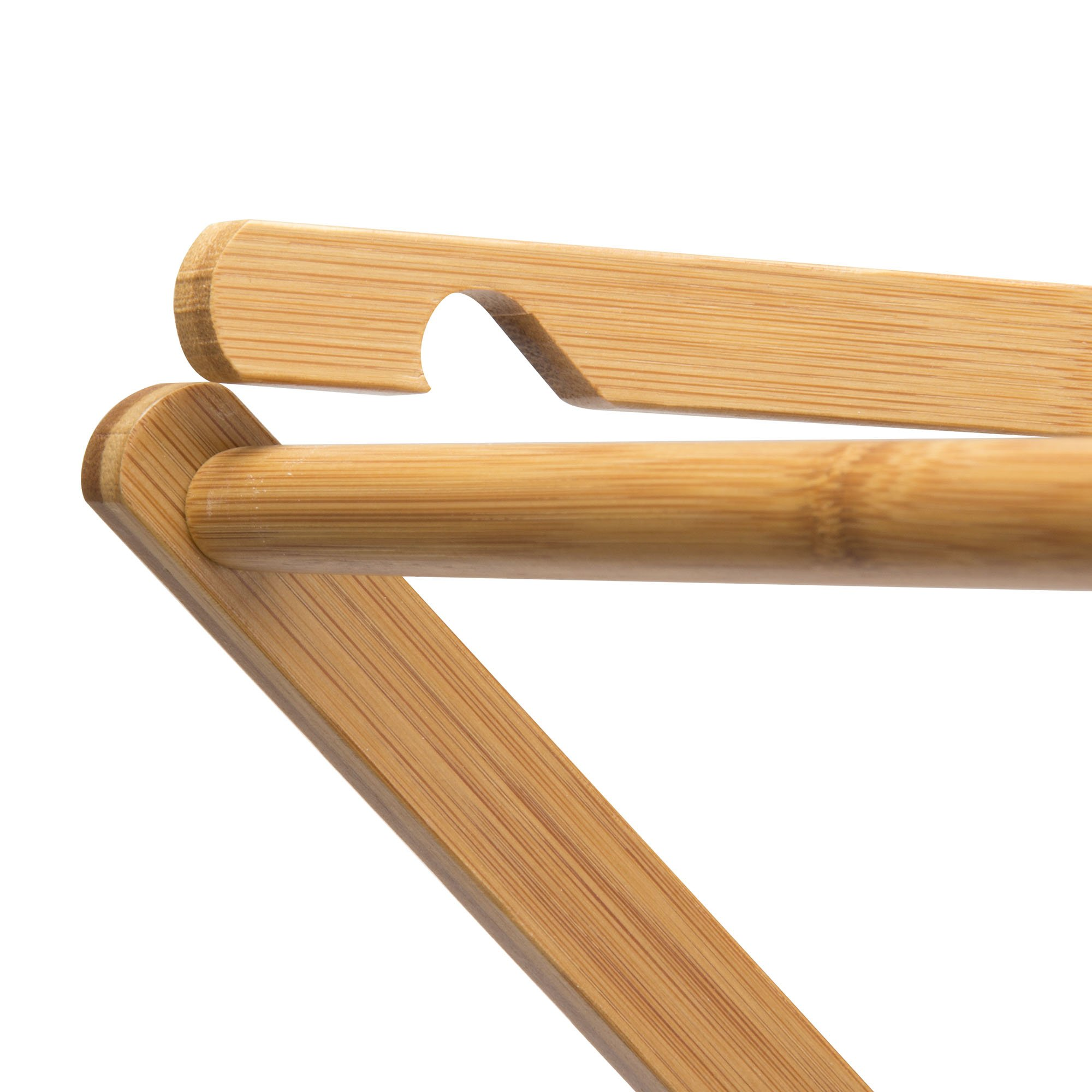 Household Essentials 6524 Tall Indoor Folding Wooden Clothes Drying Rack | Dry Laundry and Hang Clothes | Bamboo by Household Essentials (Image #2)