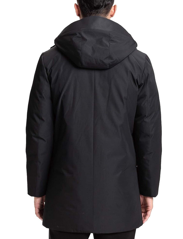 ff6086b0e Amazon.com: Lumberfield Winter Outwear Thick Hooded Men's Windstopper  Outdoor Long Parkas Jacket Black XXL: Clothing