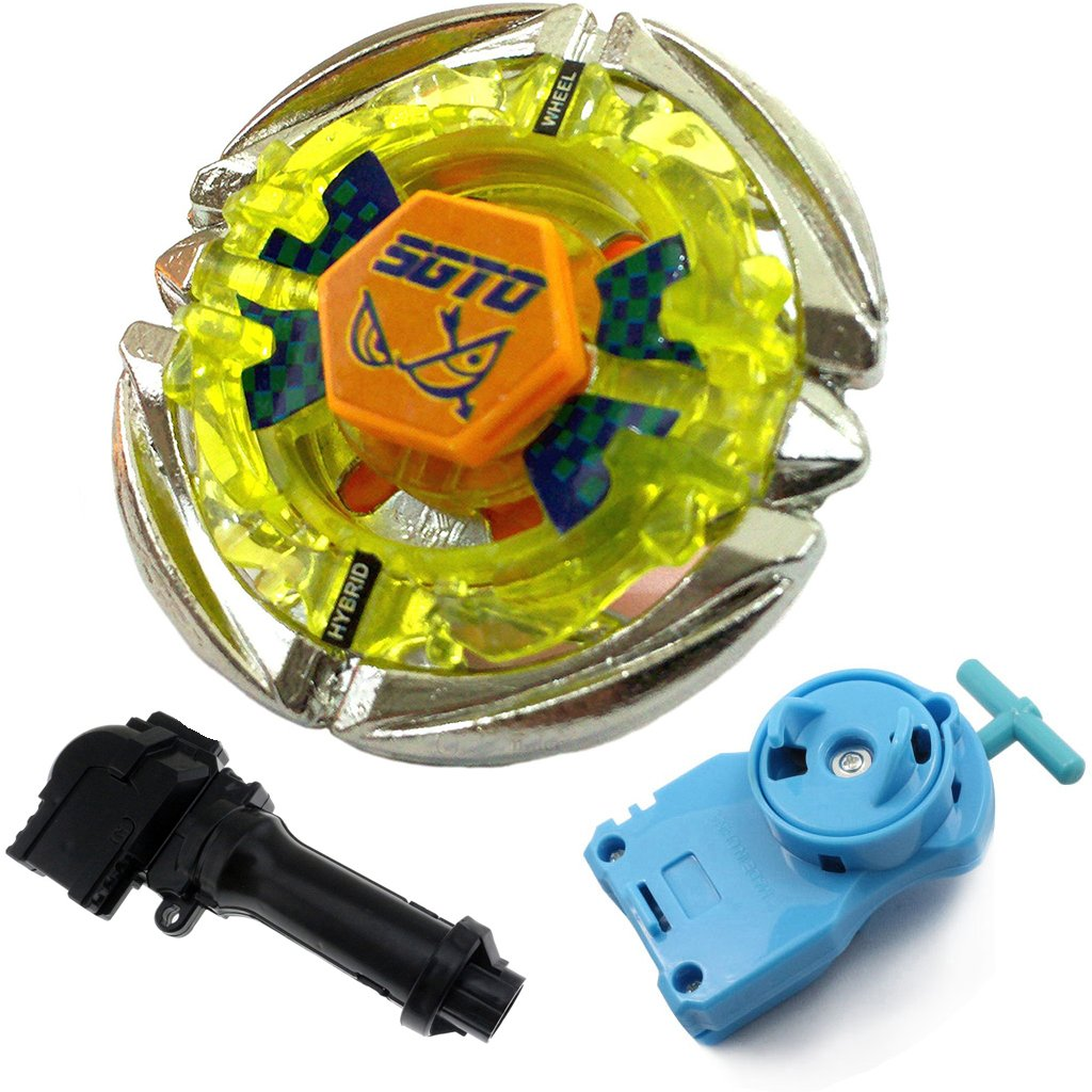 Flame LIBRA  Beyblade Fusion Masters Spinning Tops BB48 Power With Launcher