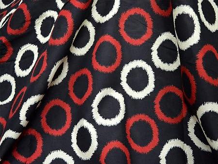 Tela de algodón puro para vestido con patrón de mandala serigrafiada de tela de algodón suave: Amazon.es: Hogar