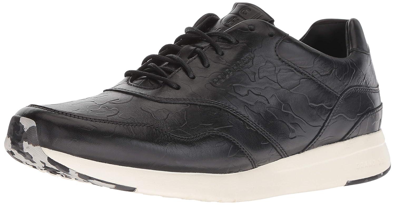 Black Black Camo Embossed Cole Haan Mens Grandpro Runner Sneaker