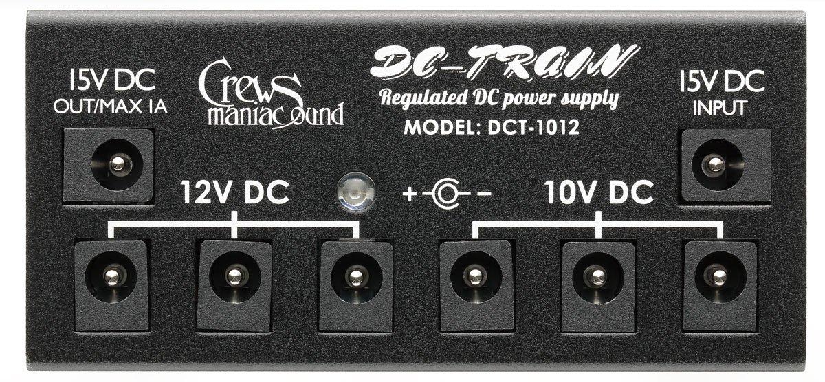 クルーズマニアックサウンド DC-TRAIN DC-1012 スターターキット (アダプター付属)10V x 3/12V x 3/15V x 1 B00R4DPELG
