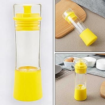 Aceite Sprayer Dispensador de Aceite Botella de Cristal Botella de Vidrio para Cocina, Barbacoa,