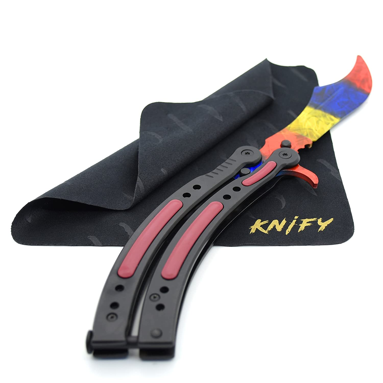 KNIFY Butterfly Marble Fade Skin - Real CS:GO Cuchillo ...